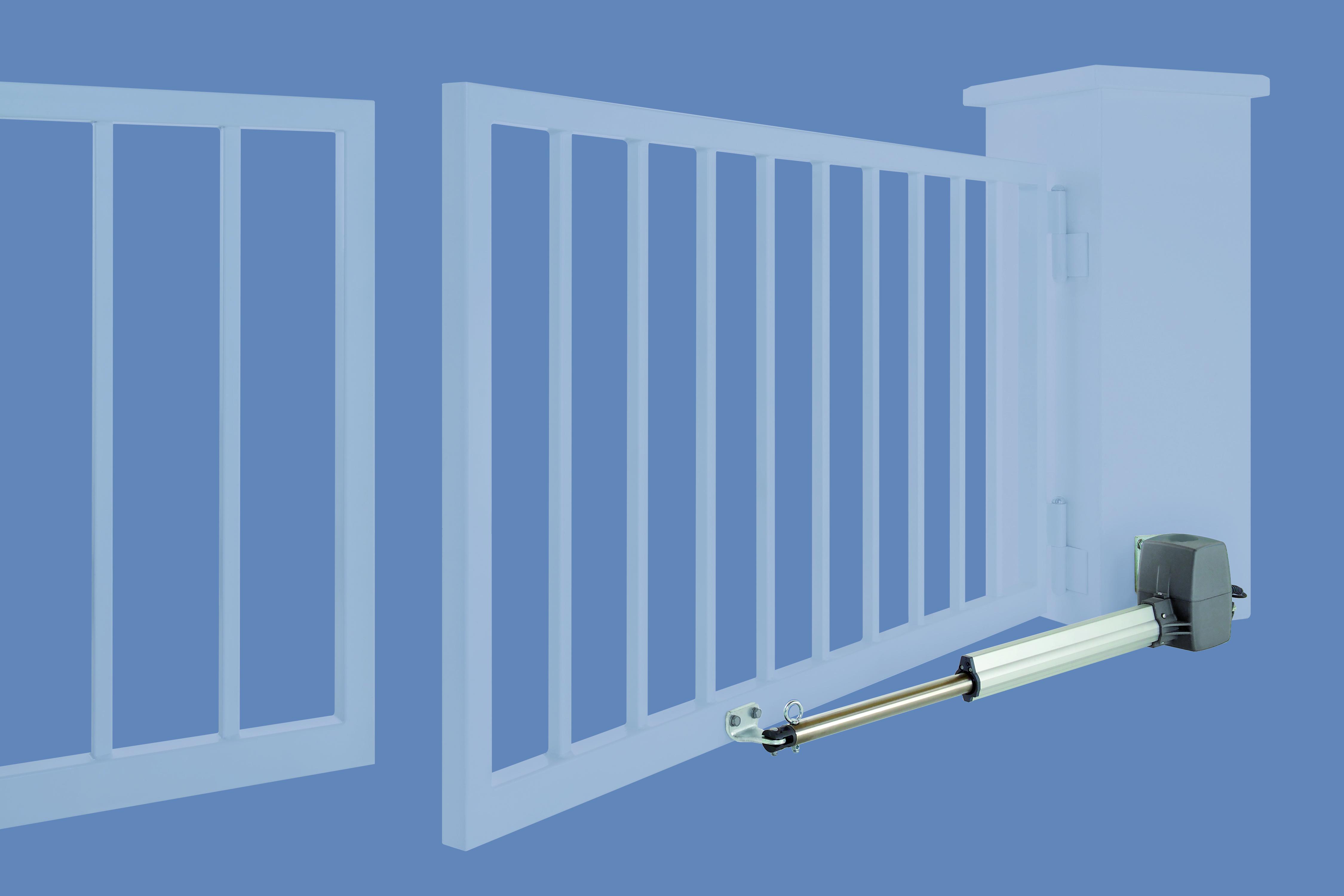 Автоматические приводы для распашных ворот фото