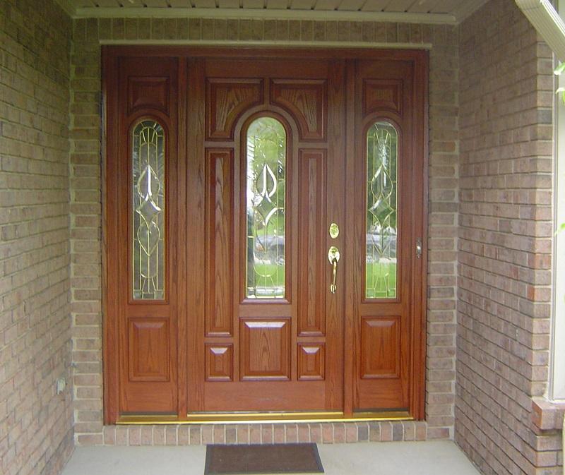 образцы дверей входных в дом